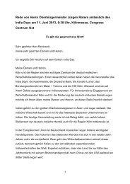 India Day, 11. Juni 2013 - Stadt Köln