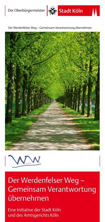 Werdenfelser Weg Bfrei [ PDF , 302 KB ] - Stadt Köln