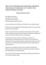 Überreichung von Verdienstorden, 17. Juli 2013 - Stadt Köln