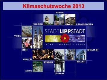 Informationen zur Klimaschutzwoche - Lippstadt