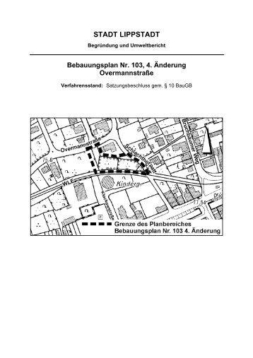 Begründung 4. Änderung - Lippstadt