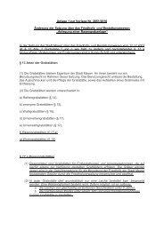 Anlage 1 zur Vorlage Nr. 2851/2010 Änderung der ... - Stadt Mayen