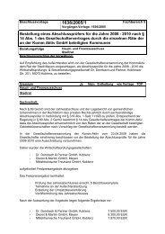 Bestellung eines Abschlussprüfers für die Jahre 2008 ... - Stadt Mayen
