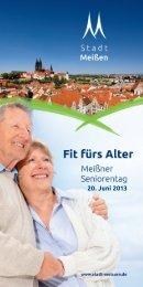 Das vollständige Programm des Seniorentages