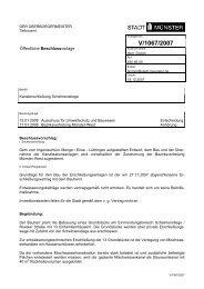 Beschlussvorlage - Vorlage V/1067/2007