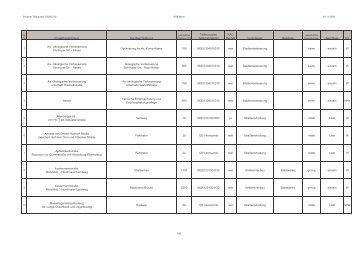 Projektbezeichnung Kurzbeschreibung Teilfinanzplan ...