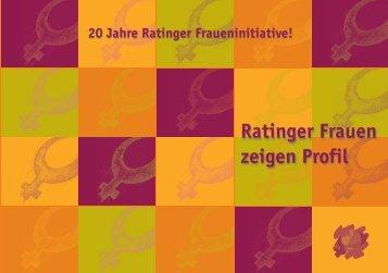 20 Jahre Ratinger Fraueninitiative - Stadt Ratingen