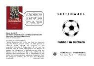 S E I T E N W A H L Fußball in Büchern - Stadt Ratingen