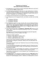 Richtlinien zur Verleihung des Ferdinand-Trimborn ... - Stadt Ratingen