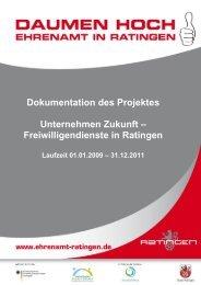 Projektbericht 2009-2011 - Stadt Ratingen