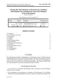Satzung der Stadt Ratingen über die Erhebung von Kostenersatz ...