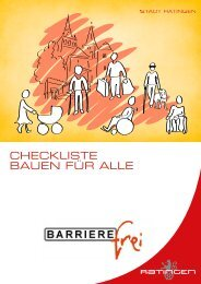 barrierefreies Bauen - Stadt Ratingen