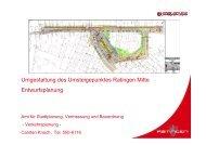 120416_Verkehrsplanung Duesseldorfer Platz und ... - Stadt Ratingen