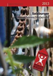 Salzburger Menschenrechtsbericht 2013, Plattform ... - Stadt Salzburg