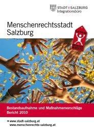 Menschenrechtsstadt Salzburg Bericht 2010