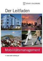 Vorteile für Bauträger, Leitfaden Stadtplanung 7/2013 - Stadt Salzburg