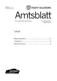 Amtsblatt 20/2012 (PDF, 188 kB) - Stadt Salzburg