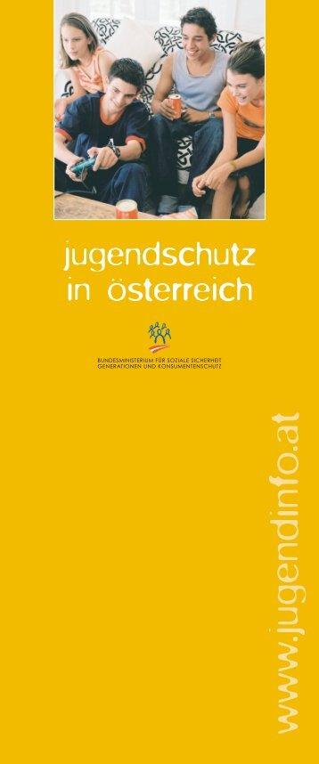 Jugendschutz in Österreich - Stadt Salzburg