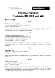 NintendoDS, 3DS und Wii Spiele - Stadt Salzburg