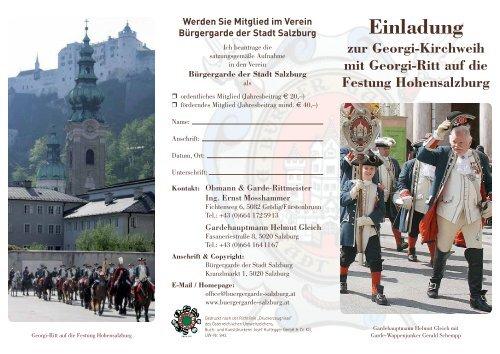 Folder Georgi-Kirchweih 2013 (PDF, 351 kB) - Stadt Salzburg