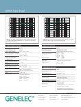 8030A Data Sheet - Genelec - Page 4