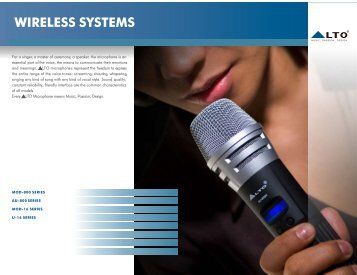 WIRELESS SYSTEMS - Alto, Music Passion Design