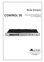 CONTROL 30