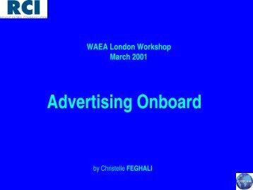 Advertising Onboard