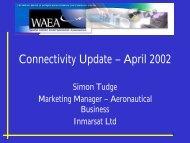 Connectivity Update – April 2002