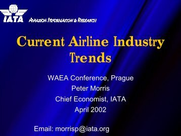 Current Airline Industry Trends