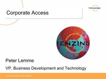 Corporate Access