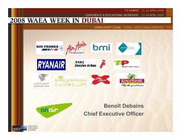 Benoit Debains, OnAir - APEX, Airline Passenger Experience ...