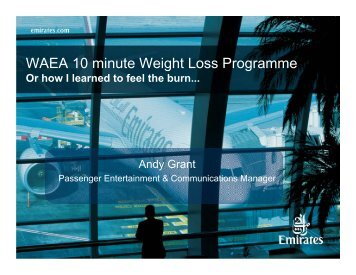 Andy Grant, Emirates