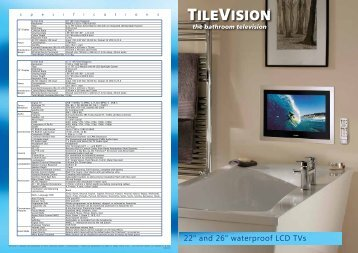 Specification Brochure - TileVision