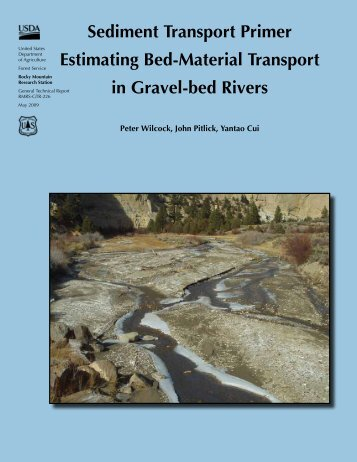 Sediment Transport Primer Estimating Bed-Material Transport in ...