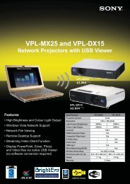 Wireless Network Projectors with USB viewer - CSW-IT