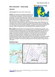 Klim, Denmark Case study. - EMD