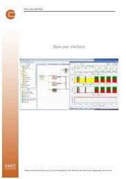 New user interface - EMD International AS.