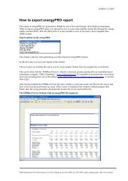 How to export energyPRO reports to excel - EMD International AS.