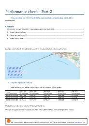 Performance check – Part-2 - EMD International AS.
