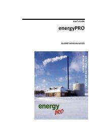 User's Guide energyPRO - EMD International AS.