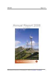 Annual Report 2008 - EMD International AS.