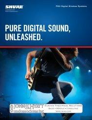 Shure PGX digital Wireless