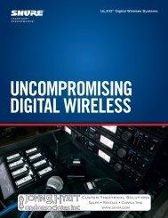 ULX-D™ Digital Wireless Systems
