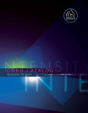 Apollo GOBO Catalog