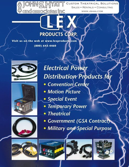 Lex Product Catalog