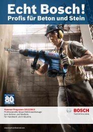 SDS-plus Bohrhämmer - Bosch-professional.com