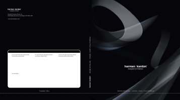 2008 CATALOG HOME / CAR / MULTIMEDIA 2 0 0 8 ... - AudioVision