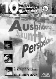 Ausbildungs- workshop AOK - Comites Hannover