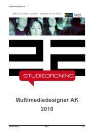 Studieordning 2010 - Erhvervsakademi Sydvest